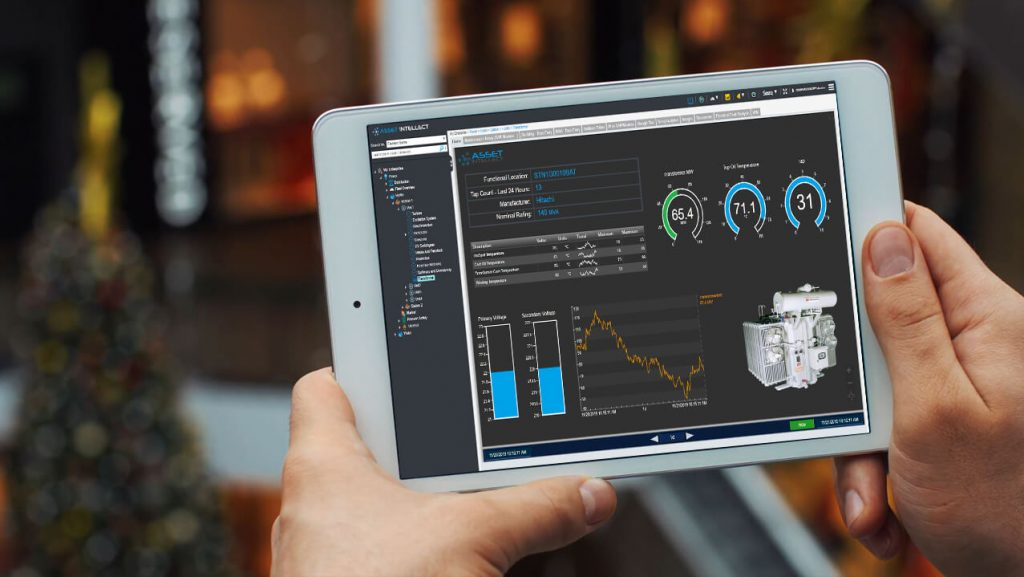 Asset Intellect with Live PI Displays on iPad
